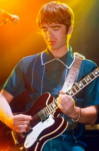 Noel And his Epiphone Riviera