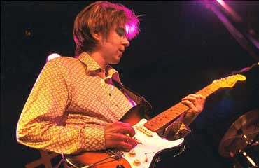 Eric Johnson and his Stratocaster