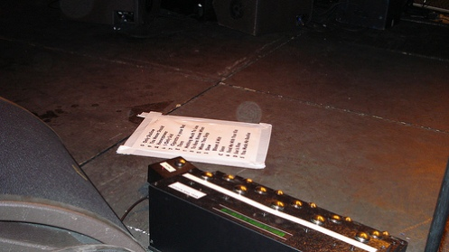 Kevin Shields pedalboard one