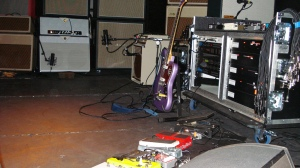kevin Shields FX pedals and racks