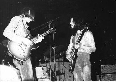 Peter Green in his Fleetwood Mac days
